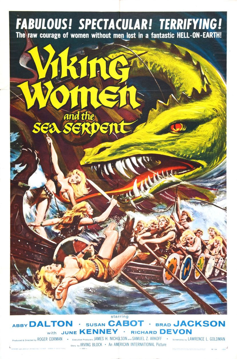 viking_women_and_sea_serpent_poster_01