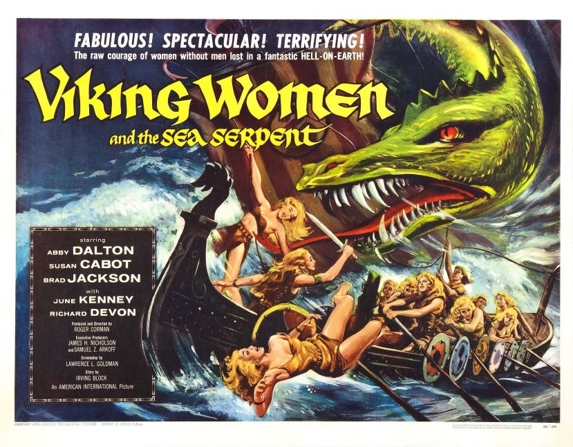 viking_women_and_sea_serpent_poster_02