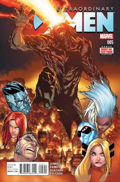 Extraordinary X-Men #5