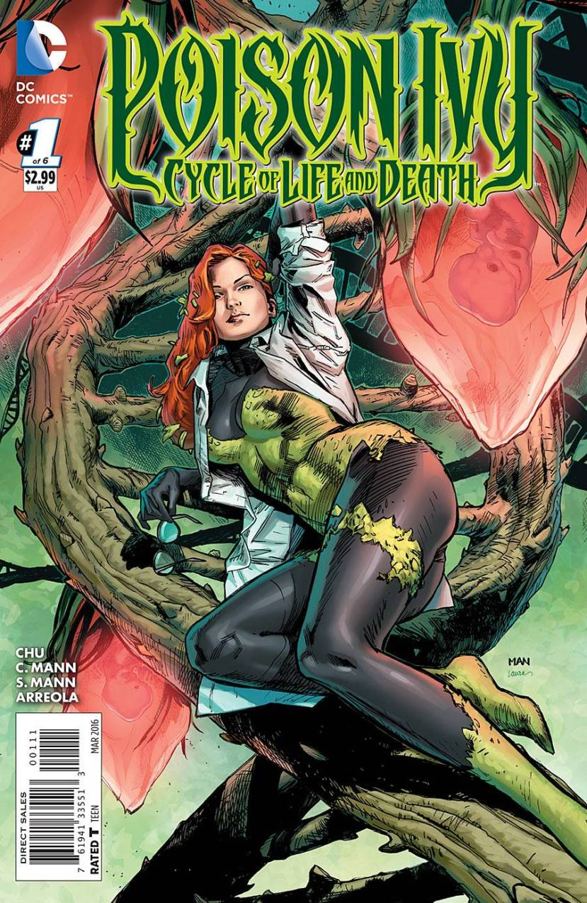 Poison Ivy Cycle of Life and Death #1