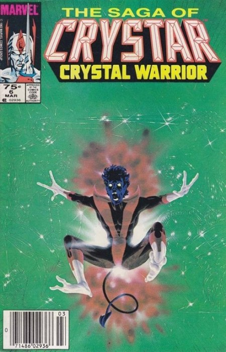 The Saga of Crystar, Crystal Warrior #6