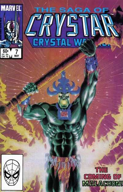The Saga of Crystar, Crystal Warrior #7