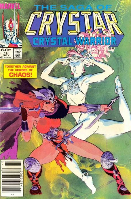The Saga of Crystar Crystal Warrior #10