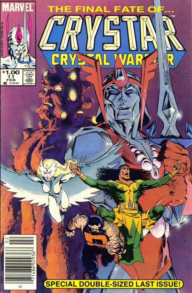 The Saga of Crystar, Crystal Warrior #11
