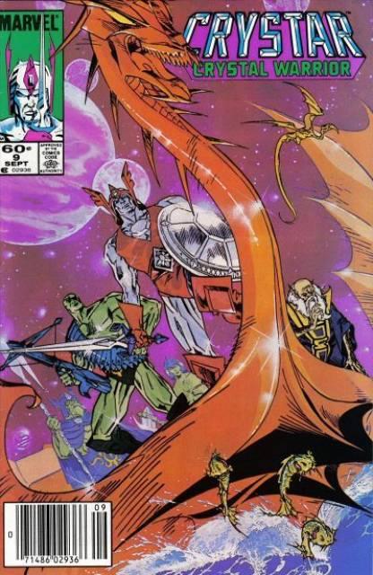 The Saga of Crystar Crystal Warrior #9