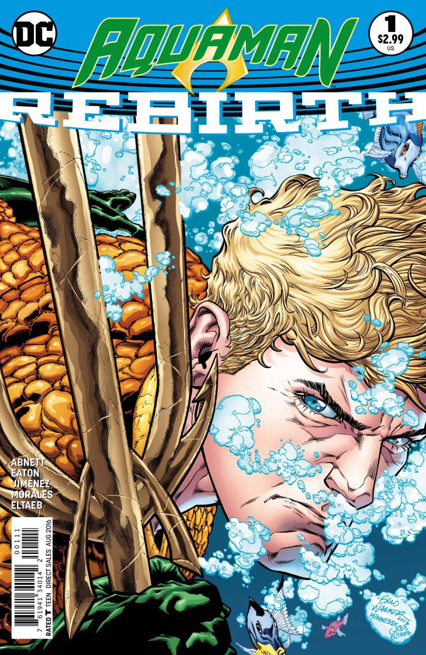 Aquaman Rebirth #1