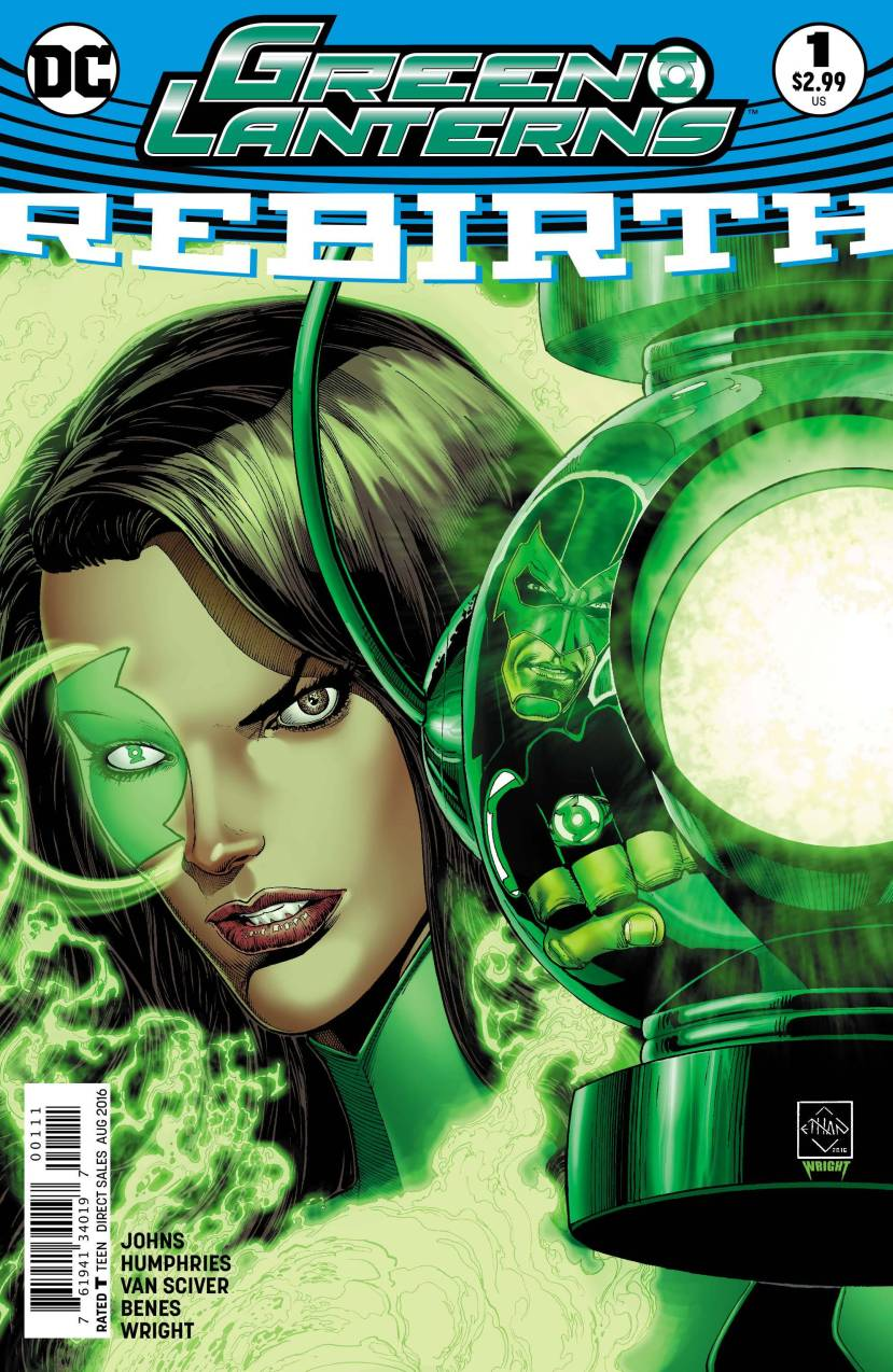 Green Lanterns Rebirth #1