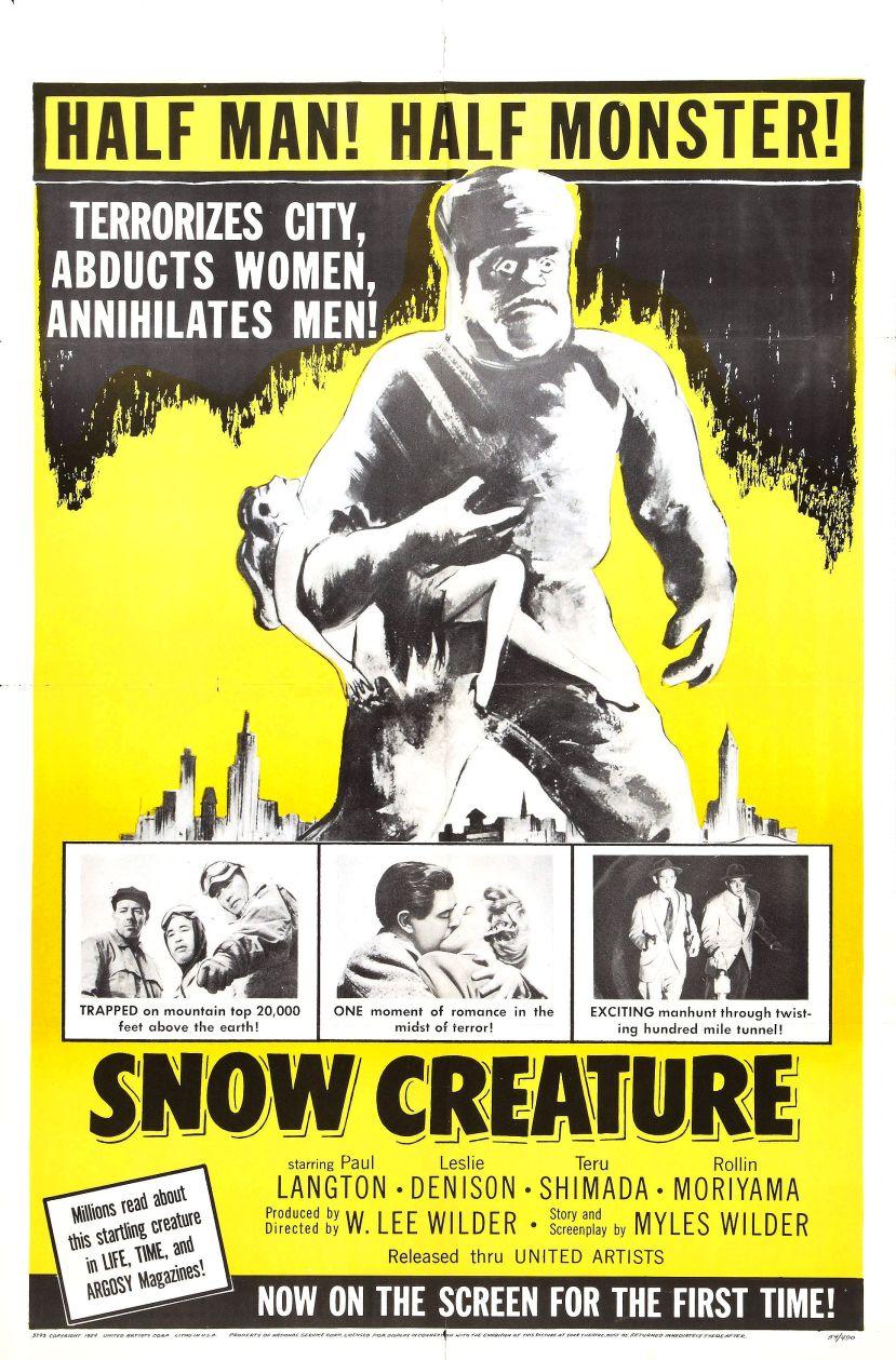 The Snow Creature 1