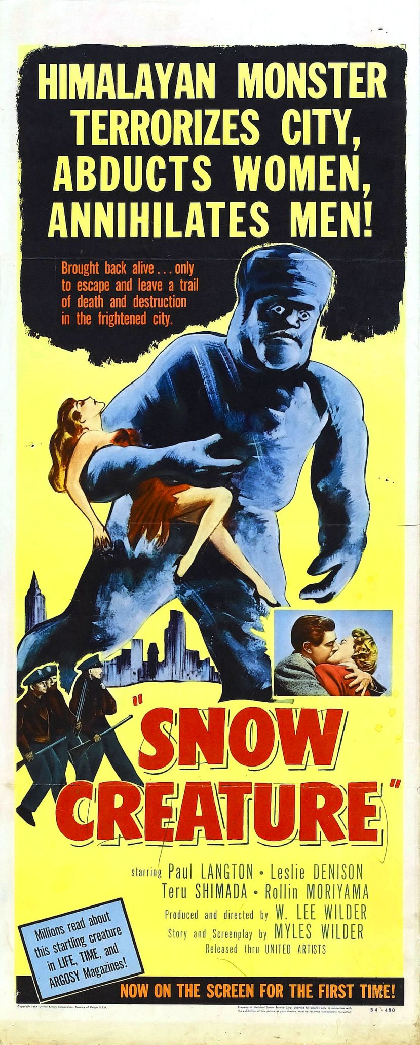 The Snow Creature 2