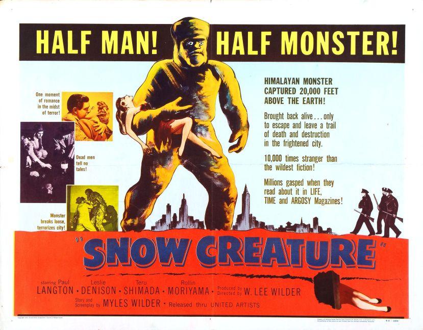The Snow Creature 4