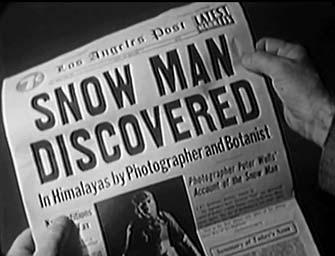 The Snow Creature 7