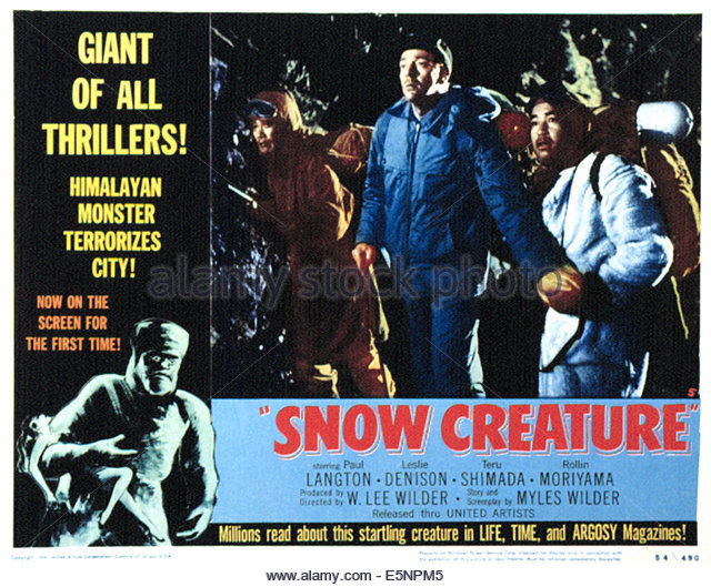 The Snow Creature 9