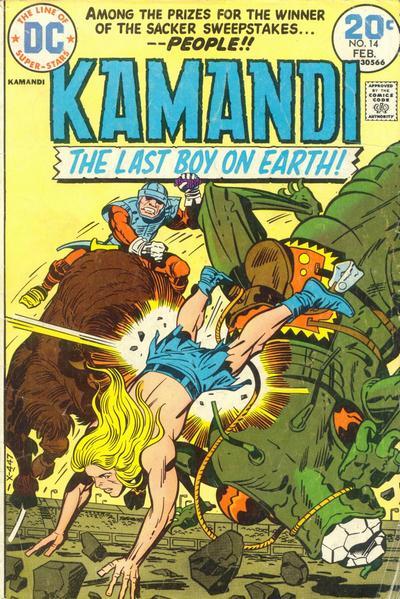 Kamandi #14