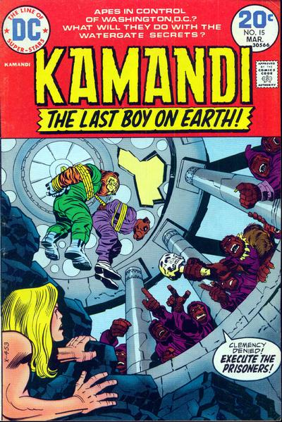 Kamandi #15