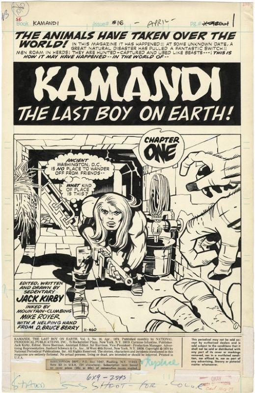 Kamandi #16a