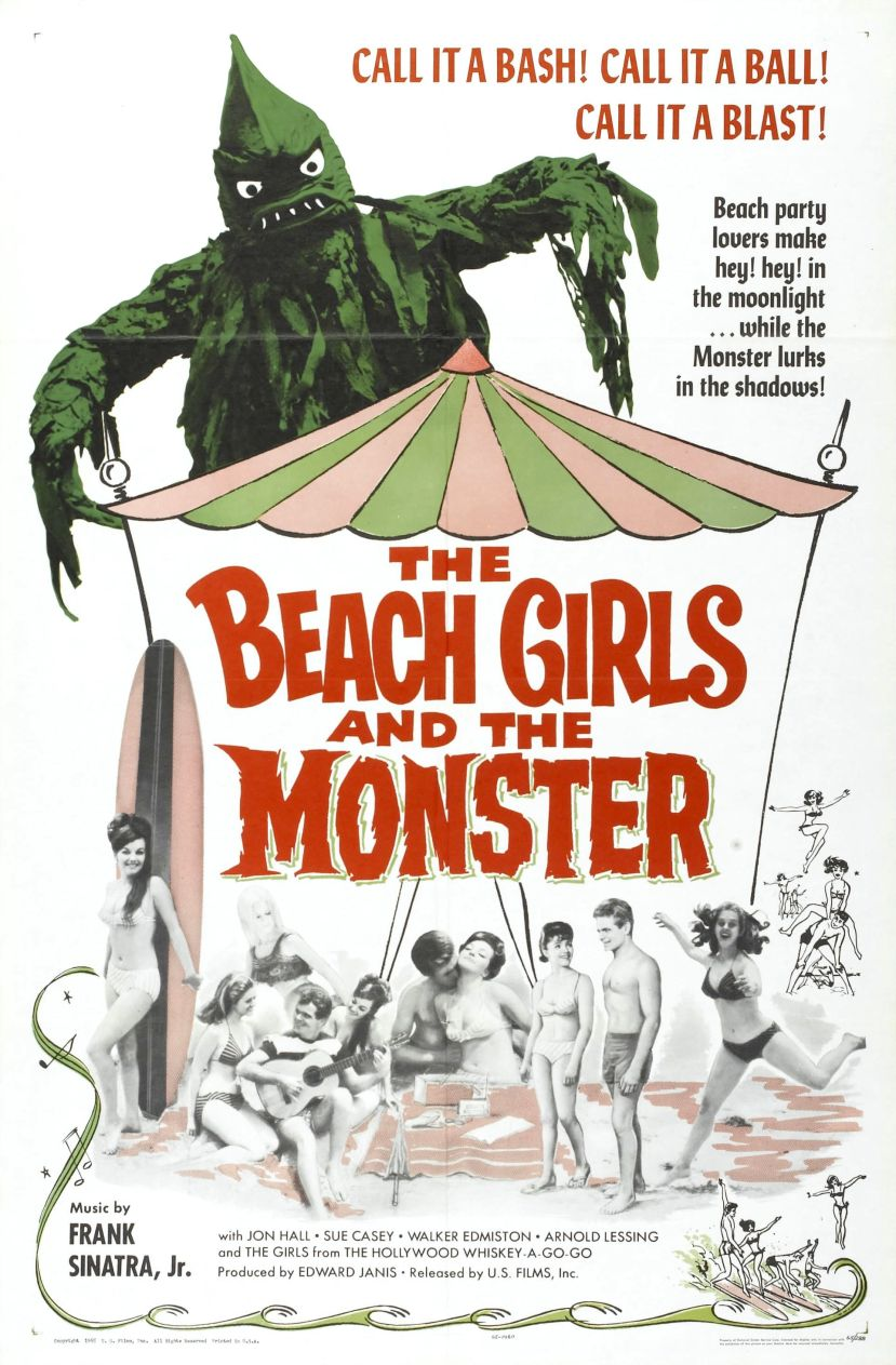 The Beach Girls and the Monster 1
