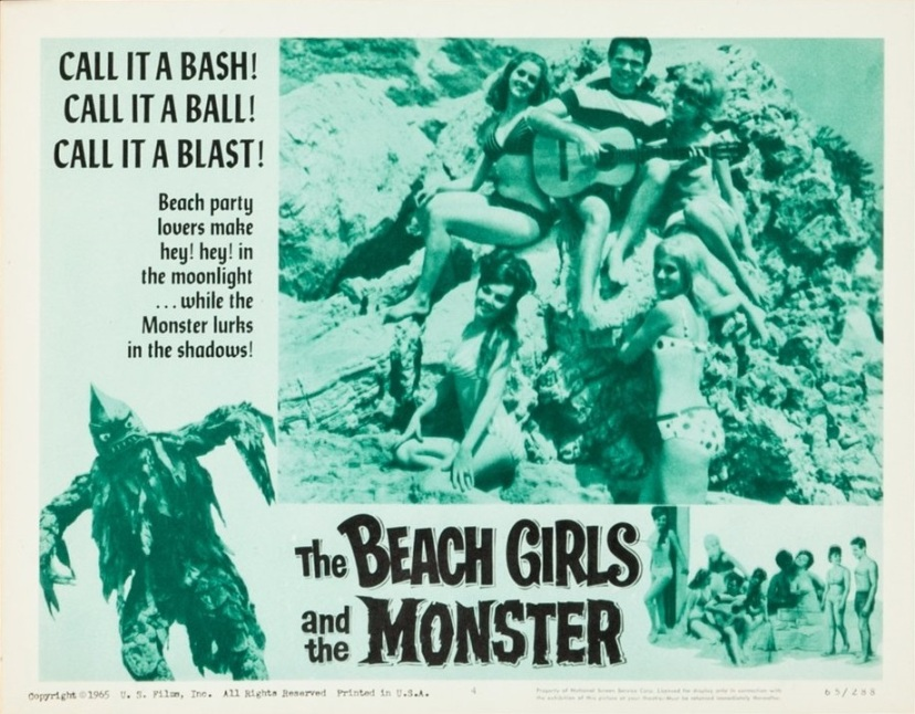 The Beach Girls and the Monster 10