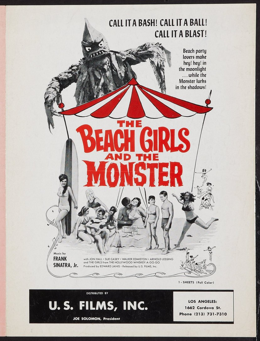 The Beach Girls and the Monster 3