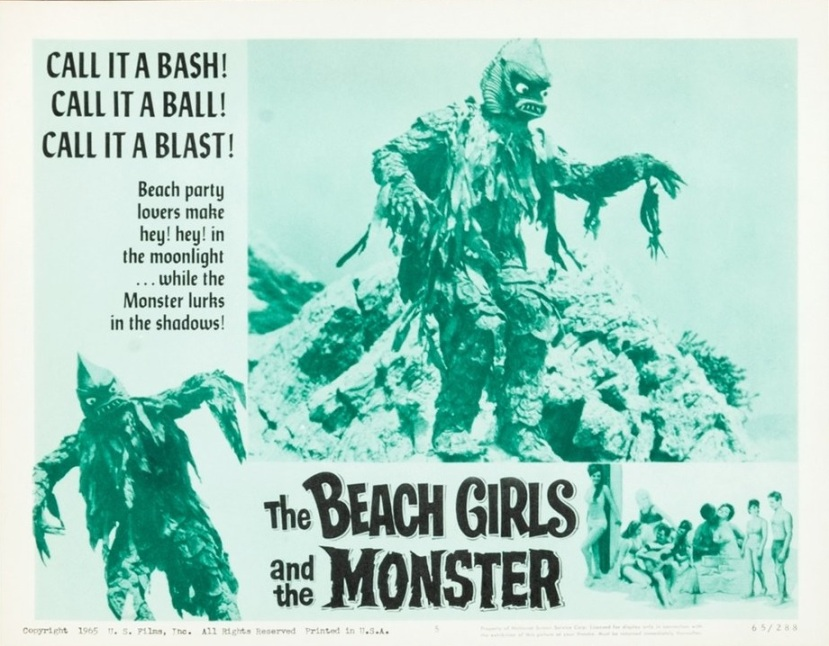 The Beach Girls and the Monster 4
