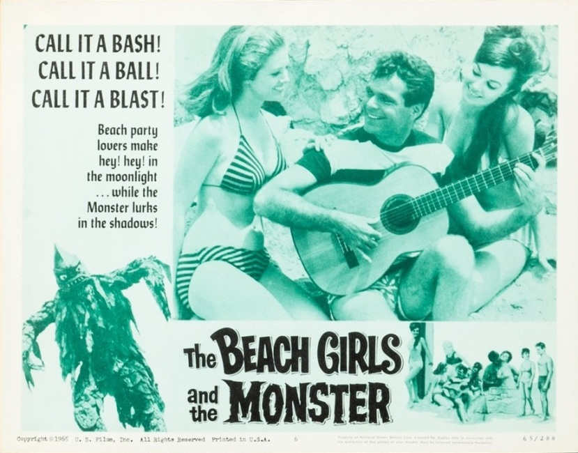 The Beach Girls and the Monster 5