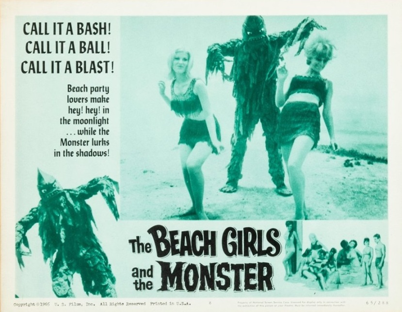The Beach Girls and the Monster 6