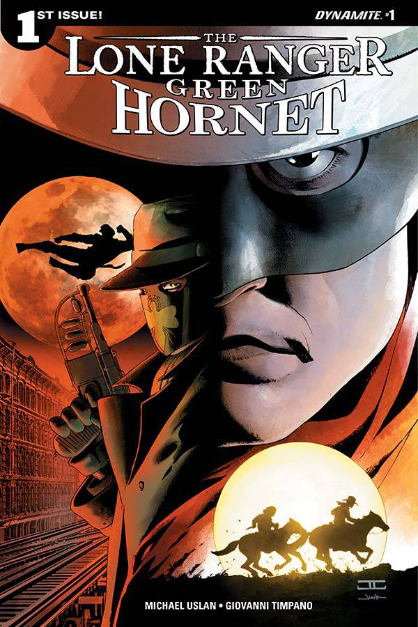 The Lone Ranger Green Hornet #1
