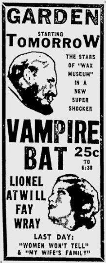 The Vampire Bat 24