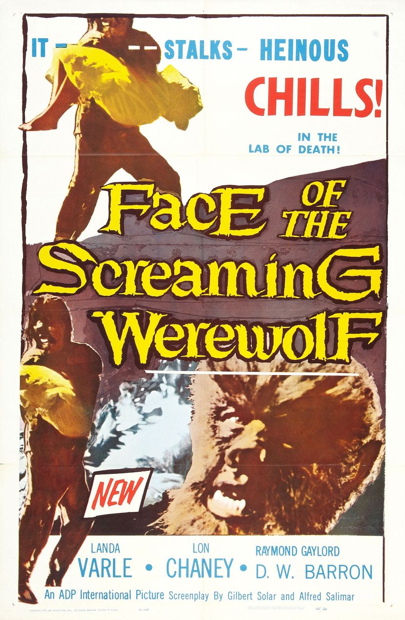 Face of the Screaming Werewolf 1