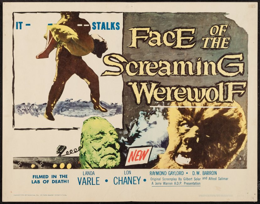 Face of the Screaming Werewolf 2