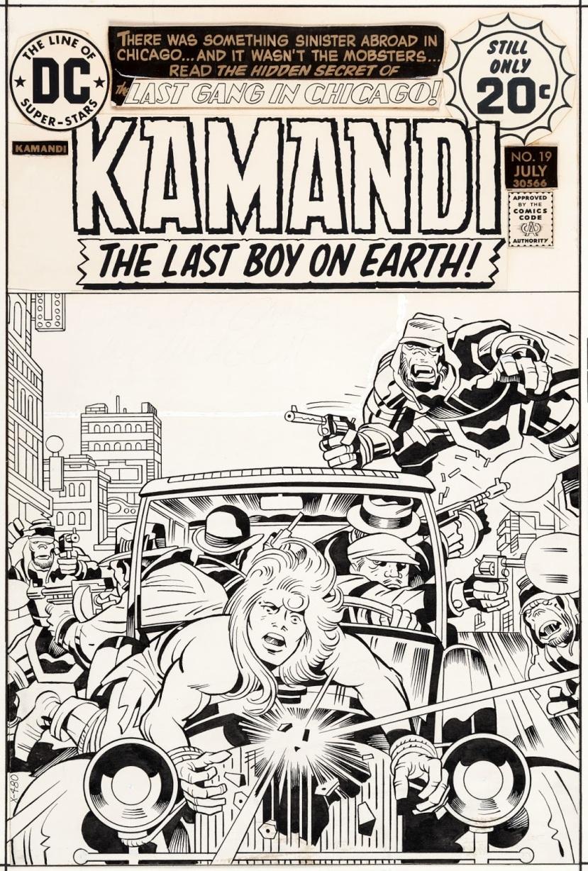 Kamandi #19a