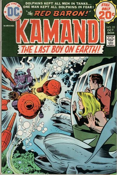 Kamandi #22