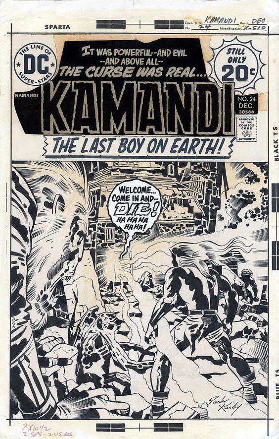 Kamandi #24a
