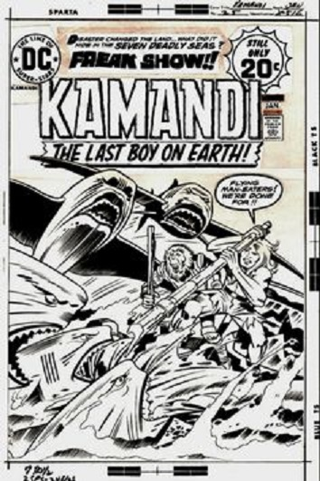 Kamandi #25a