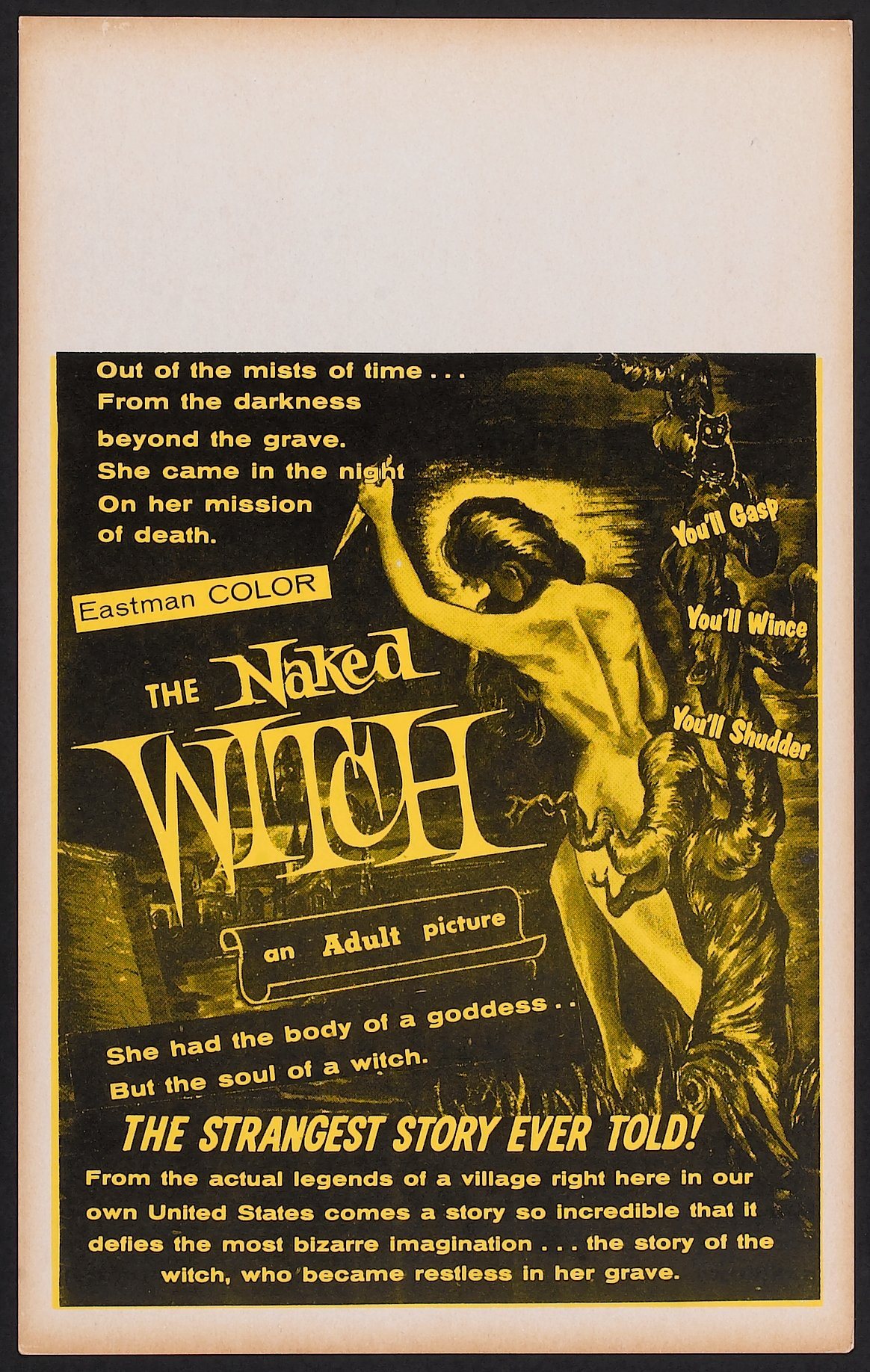 Think, that the naked witch libby hall