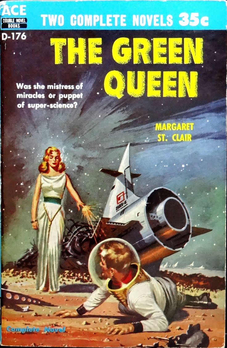 Ace D-176 Paperback Original (1956).  Cover by Ed Valigursky
