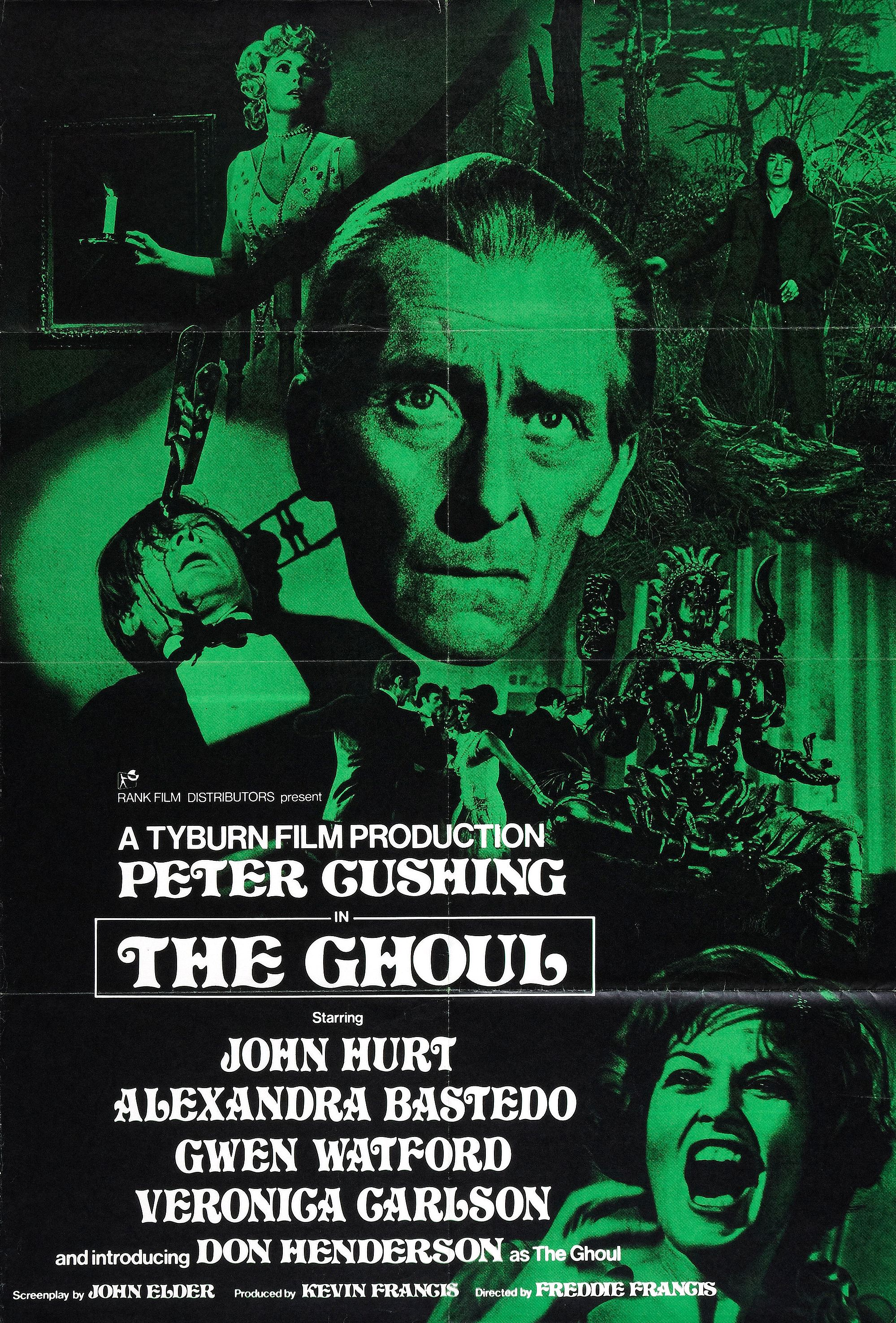 the-ghoul-1975-1kite44the-ghoul-1975-1the-ghoul-1975-12TYBURN FILM PRODUCTIONS 'THE GHOUL' (1975) Peter Cushing (Dr Lawrence), Alexandra Bastedo (Angela), Veronica Carlson (Daphne Wells-Hunter), John Hurt (Tom Rawlings), Gwen Watford (Ayah), Stewart Bevan (Billy), Ian McCulloch (Geoffrey), Don Henderson (The Ghoul)the-ghoul-1975-26
