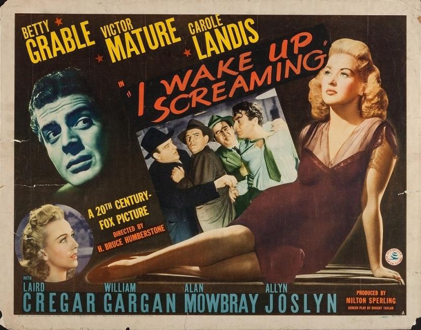 framed� for murder � i wake up screaming 1941 � the