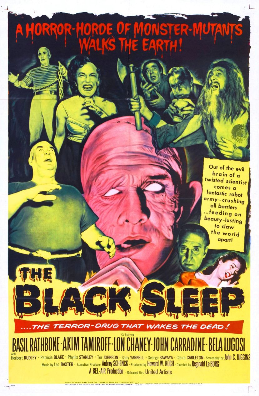 only nightmares emerge from the black sleep 1956 the telltale