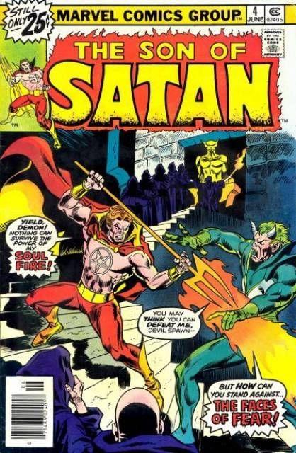 The Son of Satan #4kite44