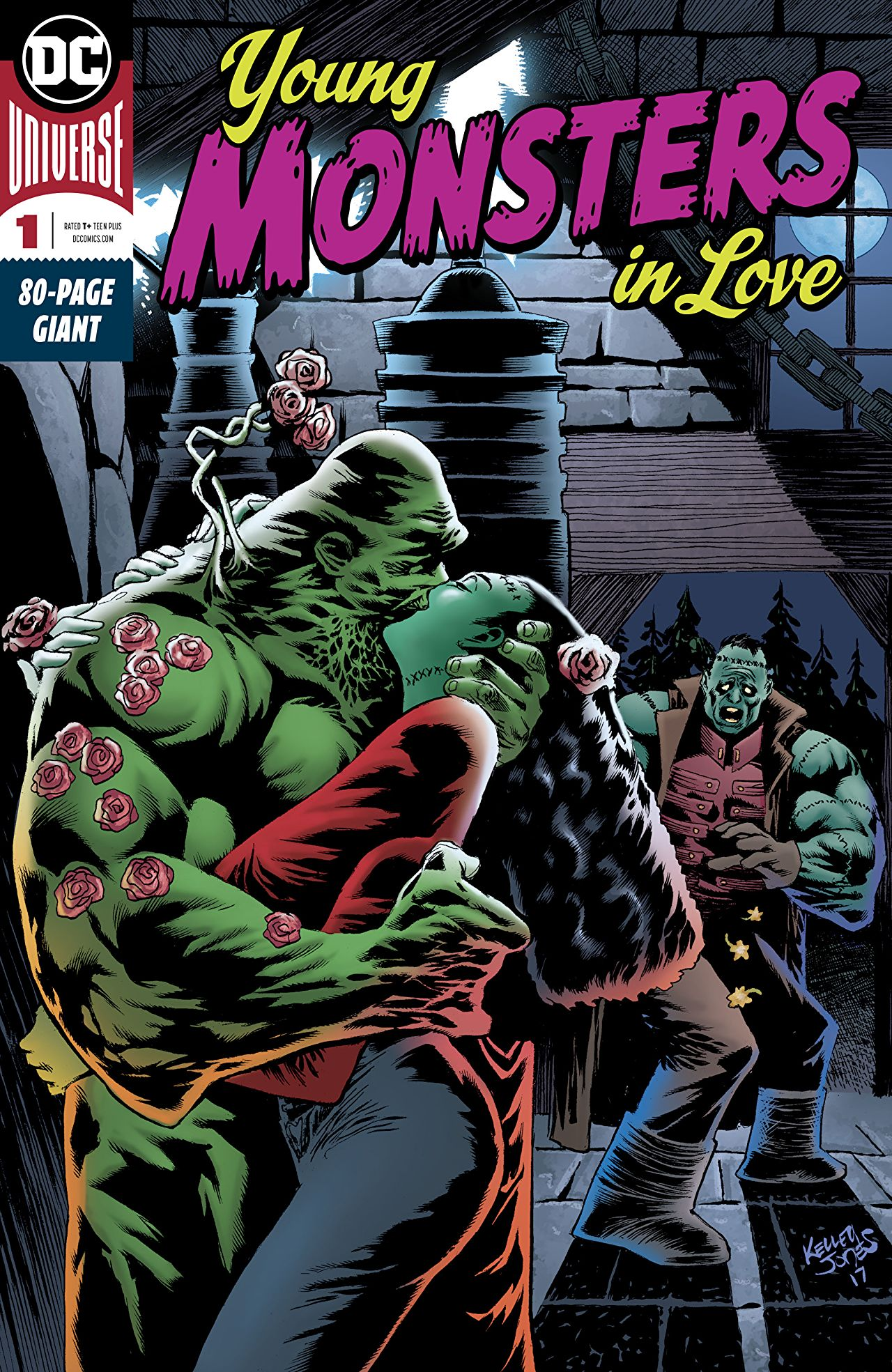 Young Monsters in Love #1kite44