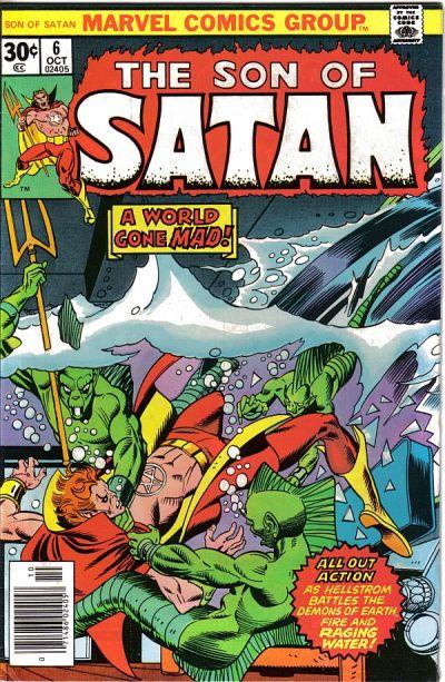 The Son of Satan #6kite44