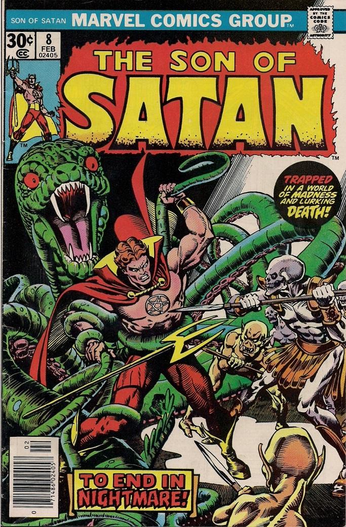 The Son of Satan #8kite44