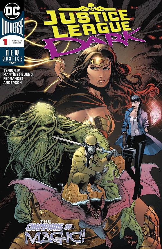 Justice League Dark #1kite44