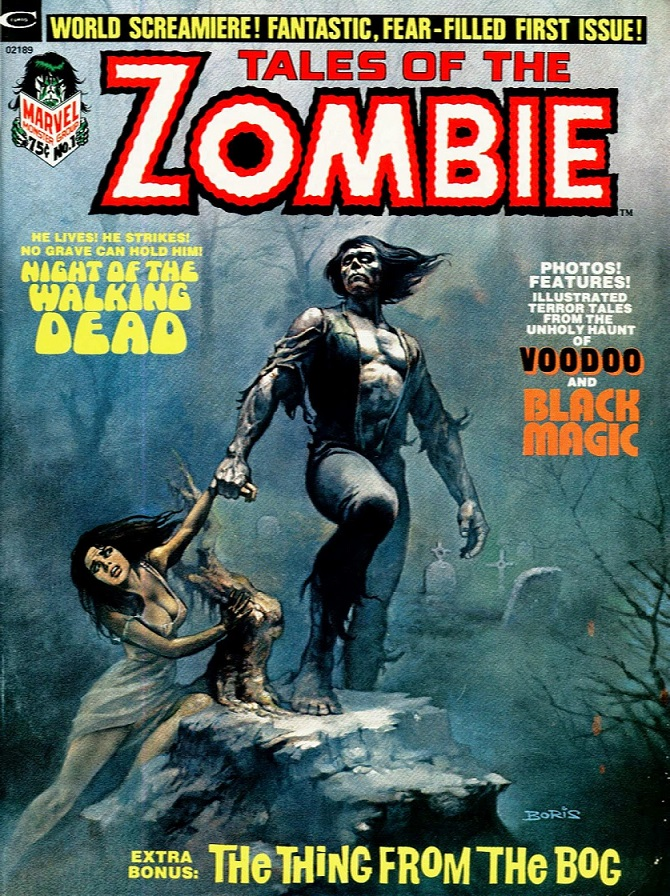 Tales of the Zombie #1kite44