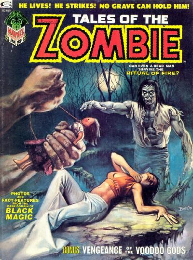 Tales of the Zombie #3kite44
