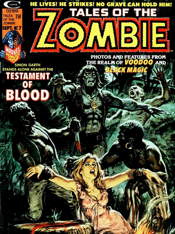 Tales of the Zombie #7kite44