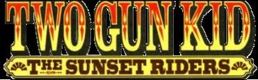 Two Gun Kid Sunset Riders logo